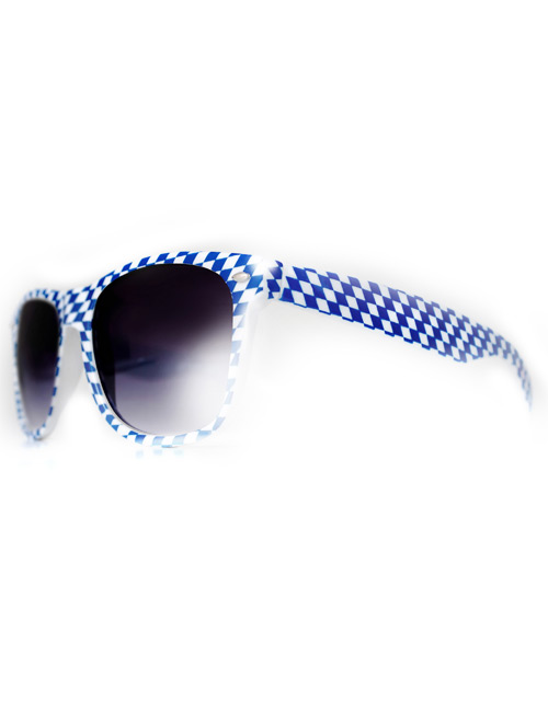Sunglasses blue-white